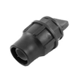 Endverschluss für PE-Rohre mit 16 mm Aussendurchmesser