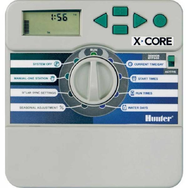 HUNTER X-CORE Steuergerät, Innen-Montage Modell für die automatische Bewässerung im Garten