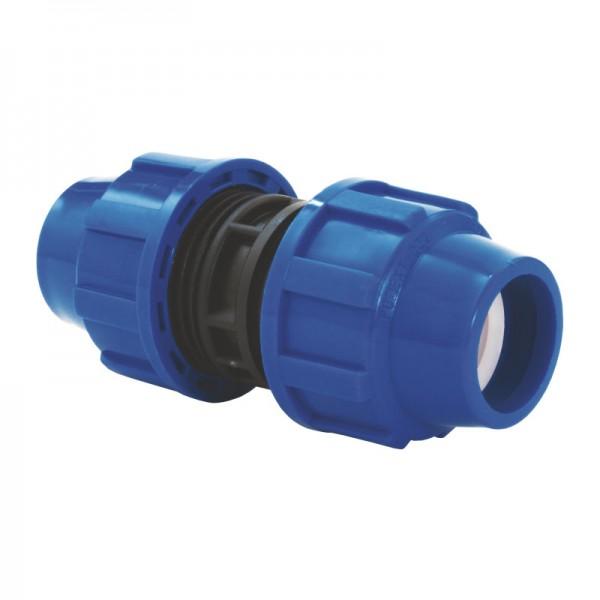 PP Klemm-Verbinder (Kupplung-gerade) für die Verbindung von DA 32 PE-Rohr