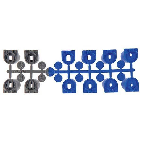 Hunter Ersatzdüsen 8 x blau und 4 x Flachstrahldüsen