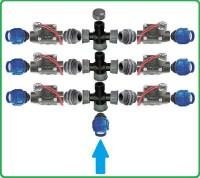 Bausatz für Ventilbox selber Bauen | 6 Ventile von HUNTER