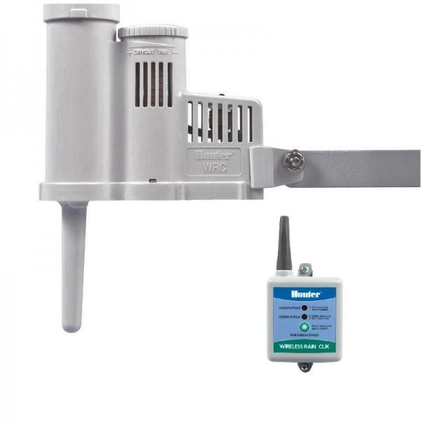 HUNTER Regensensor RAIN-CLIK Funk-Modell für die System- Abschaltung bei Regen